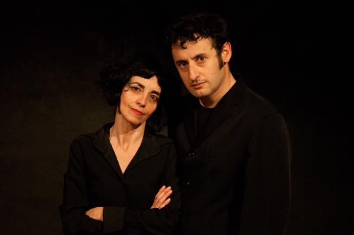 Daniele Timpano ed Elvira Frosini